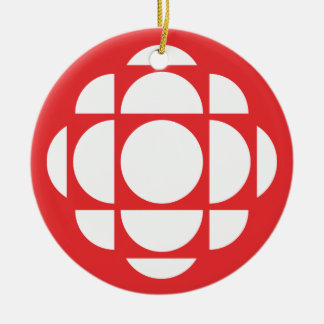 CBC/Radio-Canada Gem Ceramic Ornament