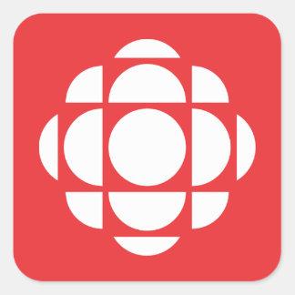 CBC/Radio-Canada Gem Square Sticker