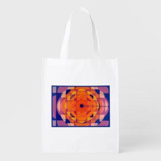 CBC Stylized logo - 1974 promo graphic Grocery Bag