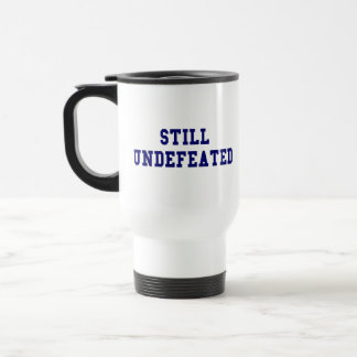 CBCI Football Still Undefeated 15 Oz Stainless Steel Travel Mug