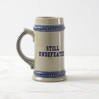CBCI Football Still Undefeated Beer Stein