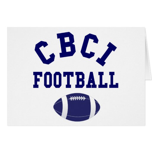 CBCI Football Still Undefeated Cards