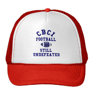 CBCI Football Still Undefeated Mesh Hat