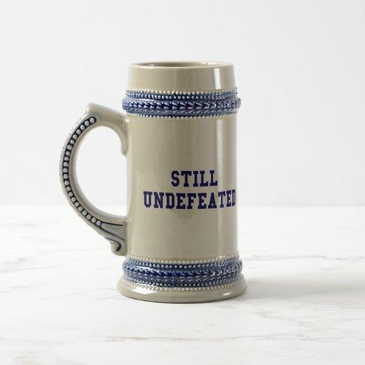 CBCI Football Still Undefeated Coffee Mug