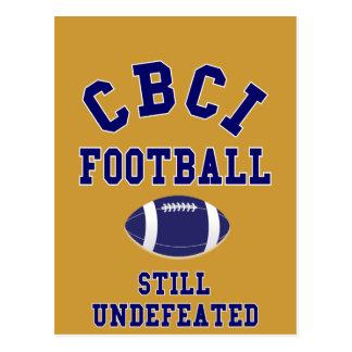 CBCI Football Still Undefeated Postcard