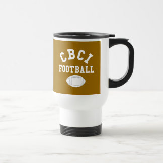 CBCI Football Still Undefeated Travel Mug