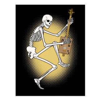 CBG Skeleton Postcard