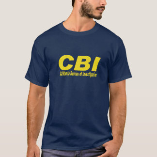 CBI(California Bureau of Investigations) T-Shirt