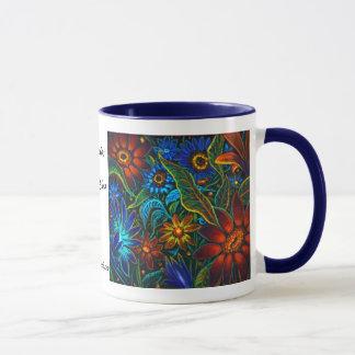 CBjork Avatar Floral Design Mug