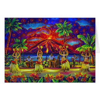 CBjork Hawaiian Luau Greeting Cards