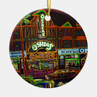 CBjork Osheas Las Vegas Artwork Ceramic Ornament