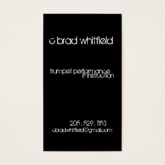 cbrad bizcard #1 business card
