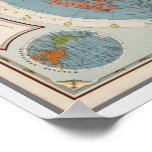 CBS American School of the Air   Map of the World Poster
