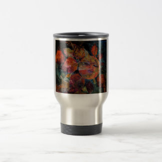 CBS Sunday Morning Show SUN ART Travel Mug
