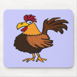 CC- Funky Rooster Mousepad