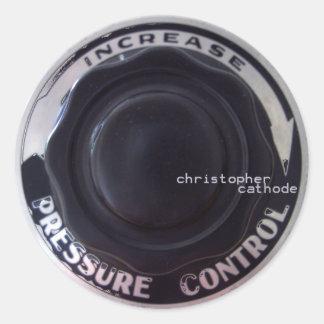 CC sticker, round Classic Round Sticker