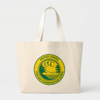 CCC Civilian Conservation Corps Commemorative Jumbo Tote Bag