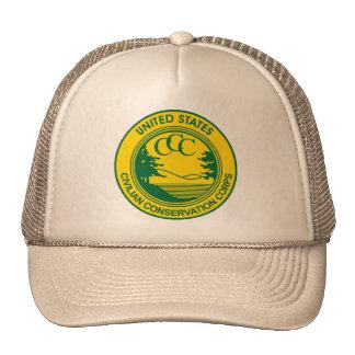 CCC Civilian Conservation Corps Commemorative Hats