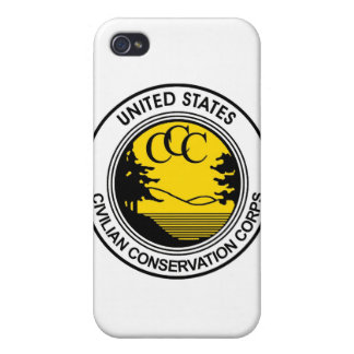 CCC Civilian Conservation Corps Tribute iPhone 4 Case