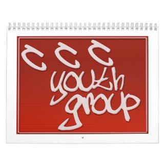 CCC Youth Group Calender Calendar
