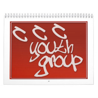 CCC Youth Group Calender Calendars