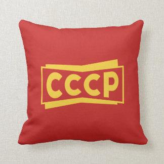 CCCP Badge Pillow