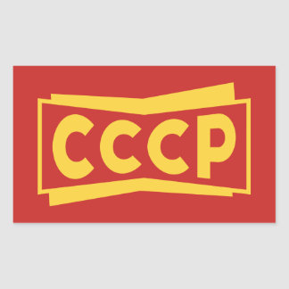 CCCP Badge Stickers