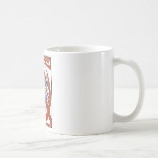 CCCP CLASSIC WHITE COFFEE MUG