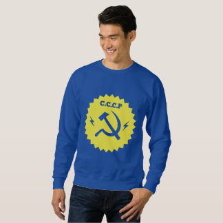 CCCP communist Badge Design Sweatshirt