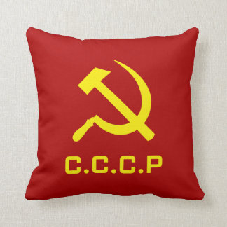 CCCP Hammer and Sickle Pillows