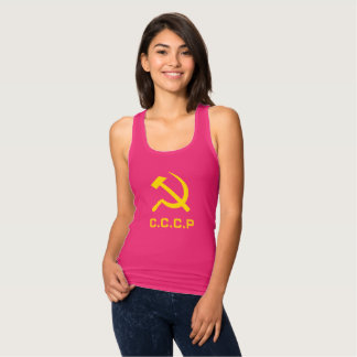 CCCP Hammer and Sickle Women's Shirts