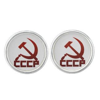 CCCP Hammer & Sickle Cuff Links