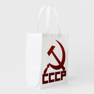 CCCP Hammer & Sickle Market Totes