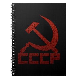 CCCP Hammer & Sickle Spiral Notebook