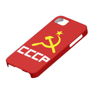 CCCP iPhone 5 Cover