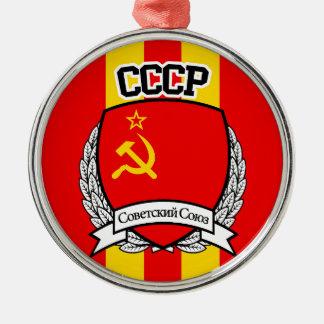 CCCP METAL ORNAMENT