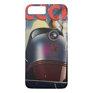 CCCP Retro vintage Soviet train Poster iPhone 7 Plus Case