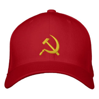 CCCP Soviet Sickle & Hammer Hat Embroidered Baseball Cap