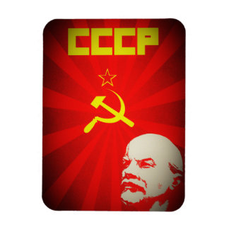 cccp soviet union communist red lenin russia propa magnet