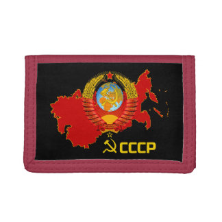 CCCP - Soviet Union Wallet. Trifold Wallets