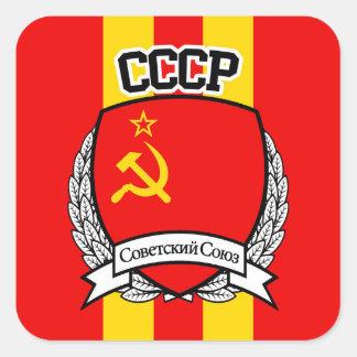CCCP SQUARE STICKER