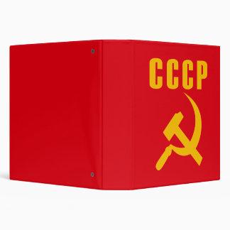 cccp URSS de marteau et de faucille Classeurs 3 Anneaux