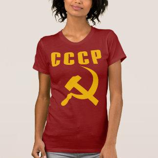 cccp URSS de marteau et de faucille Tee-shirt