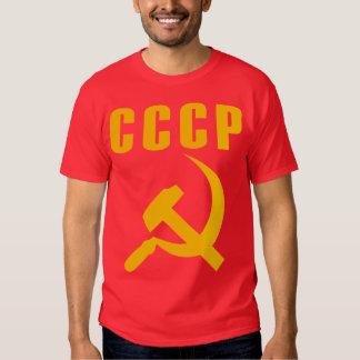 cccp URSS de marteau et de faucille Tee-shirts