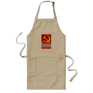 CCCP with Hammer and Sickle Long Apron