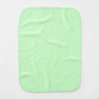 #CCFFCC Hex Code Web Color Light Mint Green Burp Cloth