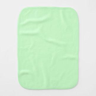 #CCFFCC Hex Code Web Color Light Mint Green Burp Cloths