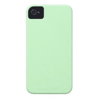 #CCFFCC Hex Code Web Color Light Mint Green iPhone 4 Cases