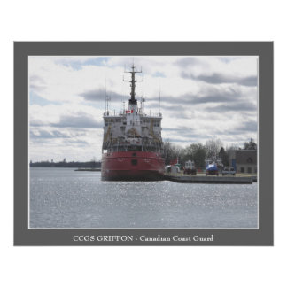CCGS GRIFFON - Canadian Coast Guard Poster