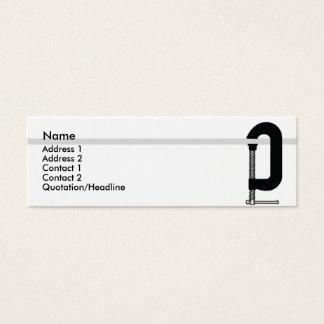 CClamp - Skinny Mini Business Card